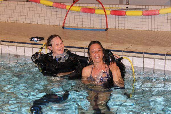 Un lundi soir la piscine de kercado club subaquatique for Piscine kercado